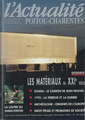 L'Actualité scientifique, technique, économique Poitou-Charentes n° 19