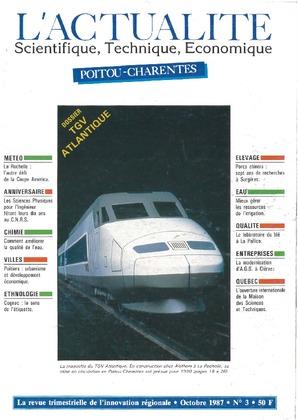 L'Actualité Scientifique, Technique, Économique Poitou-Charentes, numéro 3