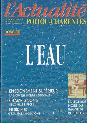 L'Actualité scientifique, technique, économique Poitou-Charentes n° 18