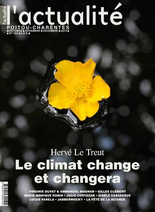 L'actualité Poitou-Charentes, numéro 106, octobre, novembre, décembre 2014.
