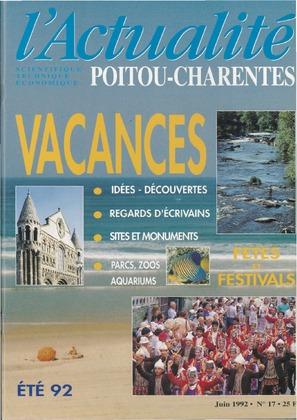 L'Actualité Poitou-Charentes, numéro 17, juin 1992