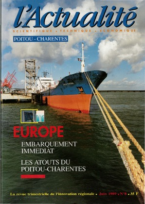 L'Actualité scientifique, technique, économique Poitou-Charentes n° 8